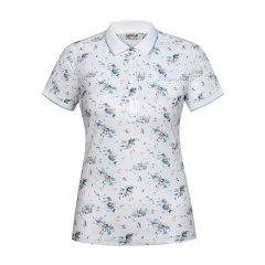 2020春夏新品法国LAFUMA乐飞叶户外印花polo领短袖女2020年夏季T恤LFTS0BS67图片