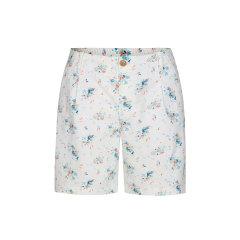 2020春夏新品法国LAFUMA乐飞叶户外夏季休闲透气短裤女修身印花短裤LFPA0BS65图片