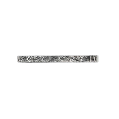 GUCCI 20春夏男士饰方形G*银领带夹 552388 J8400 0811 一周左右发货