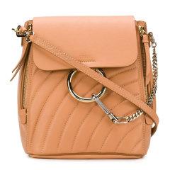 【包税】CHLOE/克洛伊 Faye系列 女士小牛皮指环双拉链手提双肩背包图片
