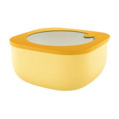 意大利进口炫彩保鲜盒   密封便携便当盒        利快guzzini可冷藏可微博加热饭盒储物盒图片