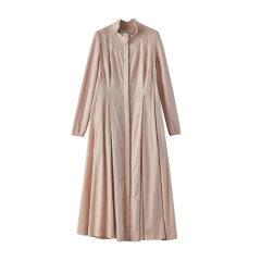 EXCEPTION/例外 20年春夏新款棉毛混纺冚车工艺设计风格拼接连衣裙女-女士连衣裙图片