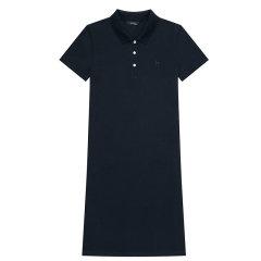【商场同款】HAZZYS/哈吉斯 2020夏季新款女士连衣裙修身时尚POLO裙AQWSE00BX02图片