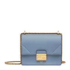 Fendi/芬迪  女士牛皮LOGO图案时尚金属扣链条包单肩斜挎包图片
