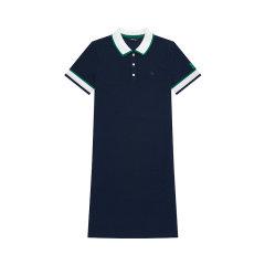 【商场同款】HAZZYS/哈吉斯 2020夏季新款女士连衣裙修身简约休闲POLO裙AQWSE00BX10图片