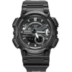 CASIO/卡西欧手表双显学生防水运动手表男图片