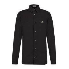【包邮包税】Dior 迪奥 20春夏 男装 服饰 黑色棉质商务休闲男士长袖衬衫 923C561W6080图片