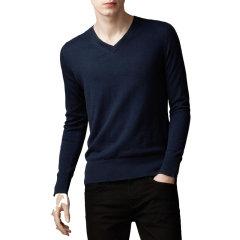 Burberry /博柏利 20春夏 男装 服饰 羊绒V领修身 男士针织衫毛衣 3848827图片