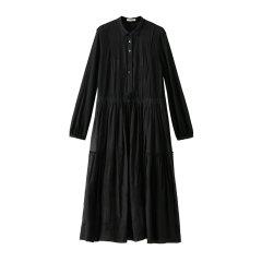 EXCEPTION/例外 原创设计20年春夏新款面料匹绣工艺针梭撞连衣裙-女士连衣裙图片