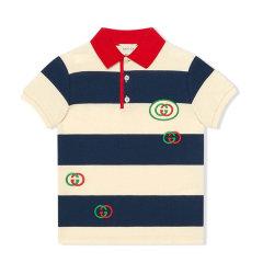 GUCCI/古驰 20年春夏 百搭 男童 logo 儿童POLO衫 591434XJB3N图片