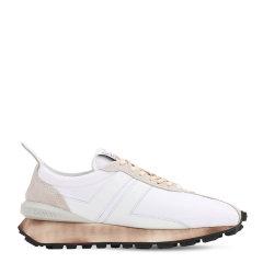 【LVR】Lanvin  男士 尼龙&皮革跑步鞋 男士休闲运动鞋 休闲运动鞋图片