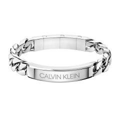 【新品】【李汶翰同款】Calvin Klein/卡尔文·克莱因 ck潮流街头酷系列男士潮手环 ck男士手镯 学生手环送男友生日礼物 情人节礼物图片
