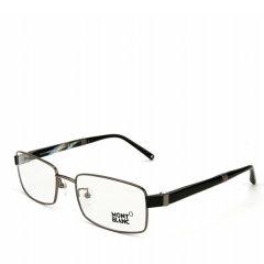 MontBlanc/万宝龙 睿智进取CEO全框系列六芒星标钢笔镜腿款正装商务行政版绅士光学眼镜MB244图片