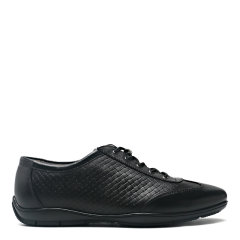【2020新款】S.T.DUPONT/都彭 牛皮潮流休闲轻底慢跑鞋男士休闲运动鞋G27165306图片
