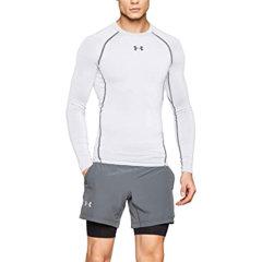 Under Armour/安德玛 男士 运动 健身 训练 跑步运动 长袖 紧身衣  男士运动T恤 1257471图片