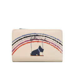 Radley/蕾德莉英国 女士短款钱包新款牛皮时尚印花中号拉链钱包16271图片