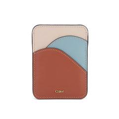 【20春夏新款】CHLOE/克洛伊 女士青年C字竖款小牛皮卡包多卡位零钱包 CHC19UP300H1Z图片