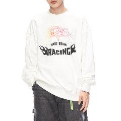 MOCO男装品牌COMMONGENDER/COMMONGENDER2020春季新品休闲印花长袖T恤男卫衣上衣官方潮流CBO1SWS026图片