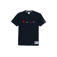 【顺丰发货】Champion冠军 经典短袖  草写刺绣 渐变LOGO 运动 圆领T恤 男女同款图片