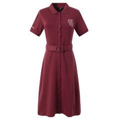 【商场同款】HAZZYS/哈吉斯 2020夏季新款女士连衣裙修身简约时尚连衣裙AQWSE00BE12图片