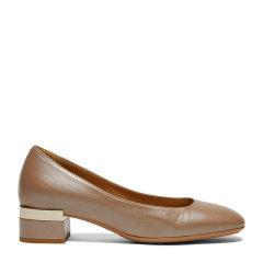 GIOVANNI FABIANI 意大利进口女鞋圆头浅口粗跟女单鞋图片