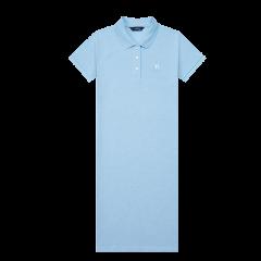 【商场同款】HAZZYS/哈吉斯 2020夏季女士连衣裙纯色简约时尚POLO裙AQWSE00BE15图片