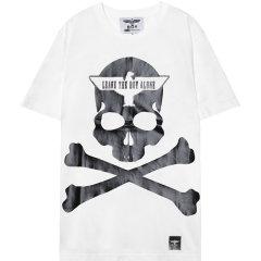 【特惠价】BOY LONDON 韩版 男女同款 时尚运动短袖T恤 情侣款 韩国直邮 B63TS72U图片