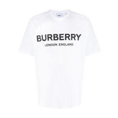 BURBERRY/博柏利 20年春夏 服装 男性 男士短袖T恤 8026017经典字母LOGO图片