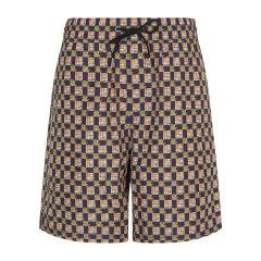BURBERRY/博柏利 简约抽绳设计印花男士短裤 休闲裤 裤子80012871图片