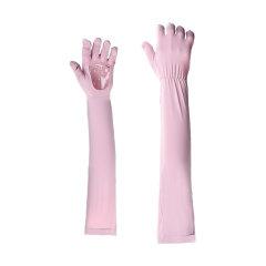 Kenmont/卡蒙2020春夏新品开车装备防晒手套女骑电车夏天手套薄袖套薄款防紫外线长手套图片