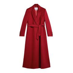【包邮包税】MaxMara/麦丝玛拉  20春夏新款女士红色羊绒大衣 1011050106065图片
