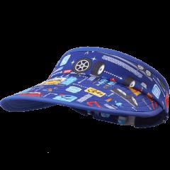 卡蒙儿童空顶防晒遮阳帽子夏季宝宝可折叠卡通太阳帽户外防紫外线图片