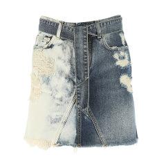 Givenchy/纪梵希 20年春夏 服装 女性 蓝色 女士半身裙 BW40EL 50F3 420图片