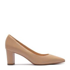 BENATIVE/本那【不掉脚的软体高跟鞋-DIY鞋花】新款不掉脚高跟鞋粗跟职业通勤尖头单鞋女图片