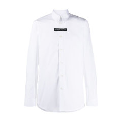 Givenchy/纪梵希 20年秋冬 百搭 男性 白色 男士长袖衬衫 BM60G4109F100图片