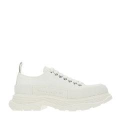 Alexander McQueen/亚历山大麦昆 20年春夏 小白鞋 男性 黑/白 休闲运动鞋 604257W4L32 1070图片