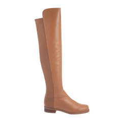 Stuart Weitzman/斯图尔特韦茨曼 SW 女士光面牛皮显瘦过膝靴长筒靴女鞋 5050-NAPPA多色可选图片