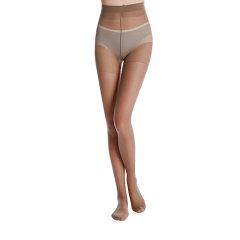 【3双装】yumei/寓美 女袜 单加裆包芯丝连裤袜2429 女夏薄款上班工作袜黑丝肤色纯色丝袜图片