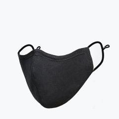维康口罩民用防护口罩黑色3只装防病毒可重复使用四层过滤38克熔喷布含量图片