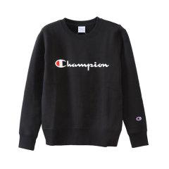 【顺丰发货】日版 Champion冠军 草写字母LOGO 长袖 圆领 男女同款 运动卫衣 经典款图片