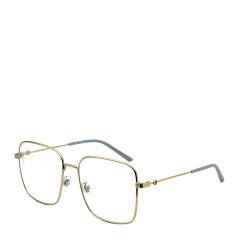 GUCCI/古驰 倪妮 肖战 明星同款 网红 海报款 复古 百搭 超轻 方形 大框 男女款 光学镜架 合金 全框 近视 平光 眼镜框 眼镜架 GG0445O 56mm GUCCI 古驰图片
