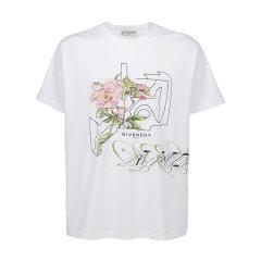 Givenchy/纪梵希 20年春夏 服装 男性 白色 男士短袖T恤 BM70WK3002 100图片