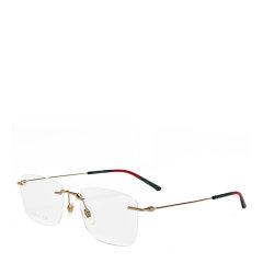 GUCCI/古驰 简约 纤细 轻薄 长方形 男女款 光学镜架 无框 近视 眼镜框 眼镜架 GG0399O 56mm GUCCI 古驰图片