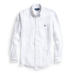 RALPHLAUREN/拉夫劳伦POLORALPHLAUREN男装2020年春夏经典版型亚麻衬衫12075长袖衬衫图片