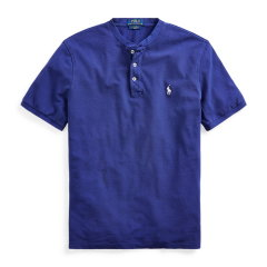 RALPHLAUREN/拉夫劳伦POLORALPHLAUREN男装2020年春夏网格亨利衫12009短袖T恤图片
