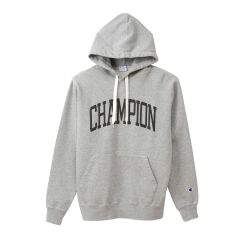 Champion冠军 日版卫衣帽衫男女字母宽松连帽套头纯色卫衣19秋冬图片