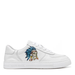 【20春夏】Sze/Sze 牛皮 男士时尚涂鸦休闲鞋运动鞋板鞋小白鞋 X06M0201图片
