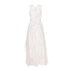 EXCEPTION/例外 原创设计V领绑带修身中长连衣裙仙女裙女-女士连衣裙图片