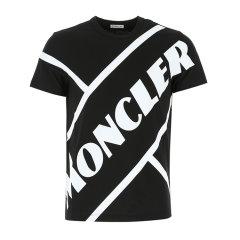 Moncler/蒙克莱 20年春夏 服装 男性 红色 男士短袖T恤 8C706-108390T455图片