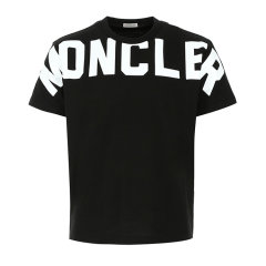 Moncler/蒙克莱 20年春夏 服装 男性 黑色 男士短袖T恤 8C70410 8390T 999图片